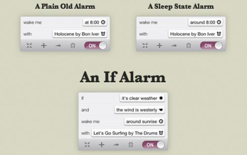 If Alarm Clock 01