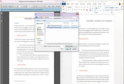 Word直接编辑PDF文档