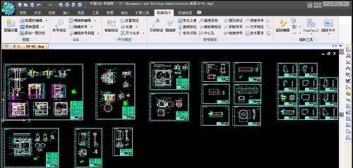 标注中望CAD标高版五大实用功cad自动详解怎么机械图片