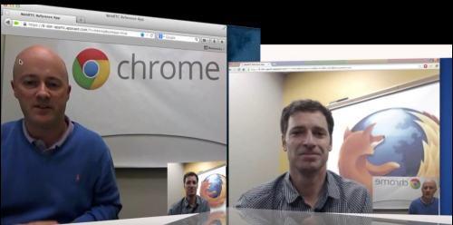 火狐和Chrome之间实时对话