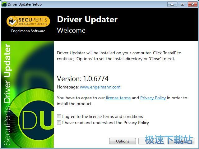 SecuPerts Driver Updater安装教程