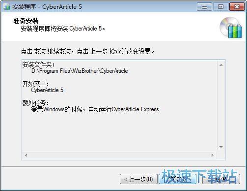 图:CyberArticle安装教程