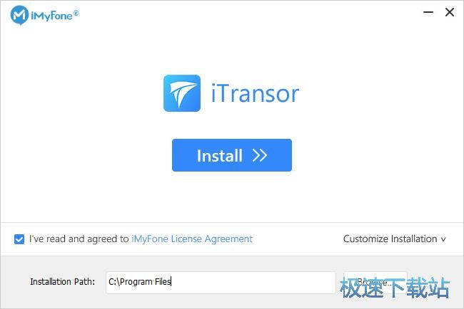 iMyFone iTransor安装教程