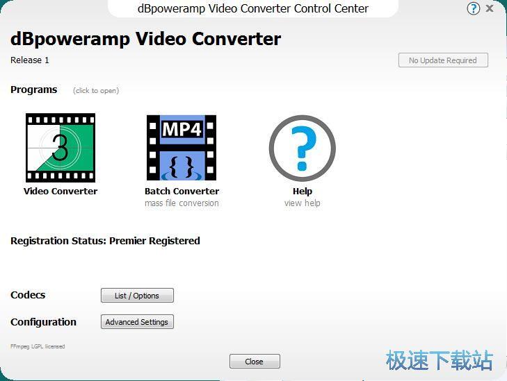 dBpoweramp Video Converter将MP4转成MOV教程 缩略图