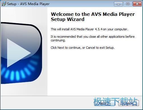 AVS Media Player安装教程