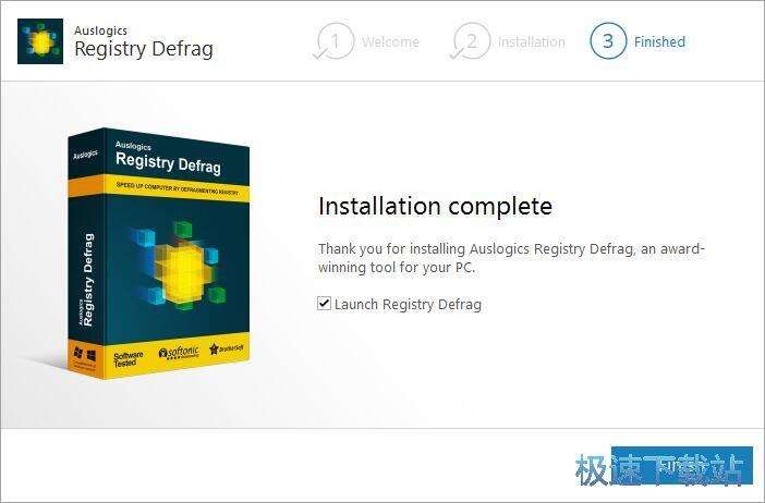 Registry Defrag安装教程