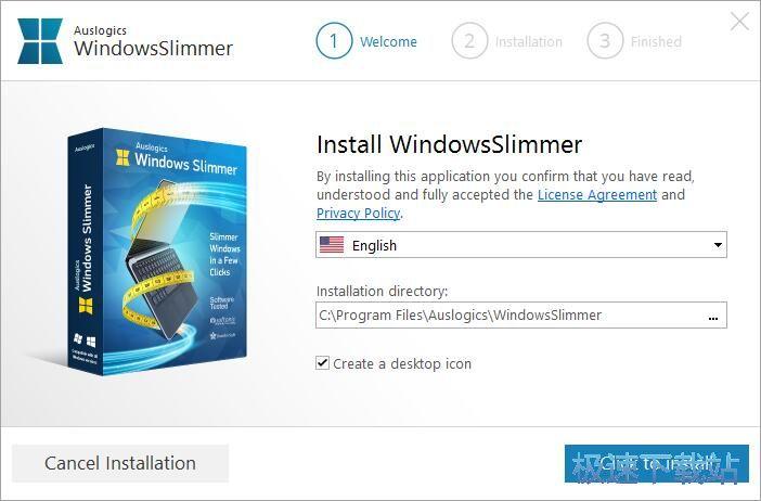 Auslogics Windows Slimmer安装教程