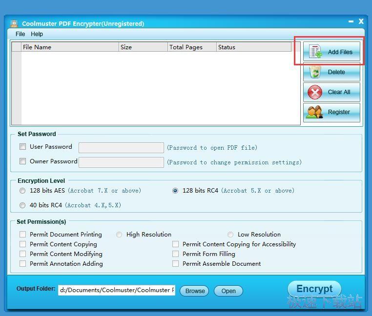 图:加密PDF文档教程