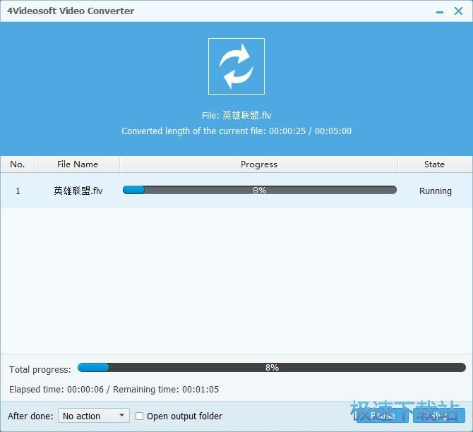 MP4视频转FLV视频教程