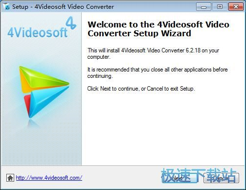 4Videosoft Video Converter安装教程