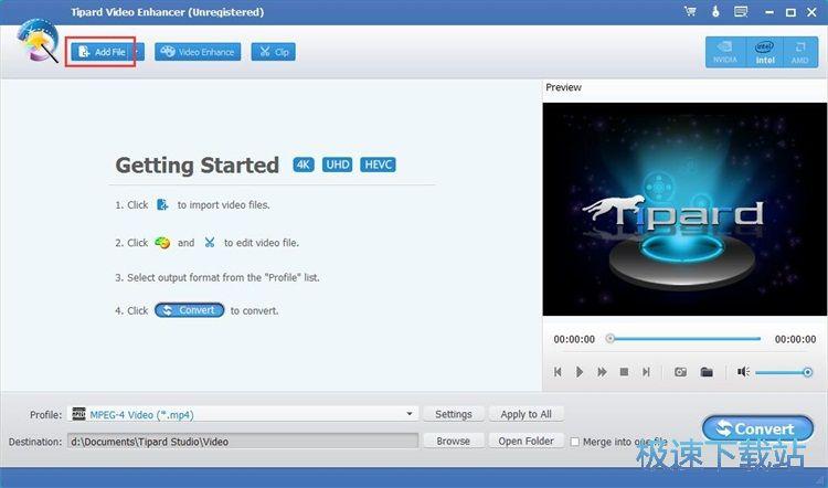 Tipard Video Enhancer修改视频画面效果教程 缩略图