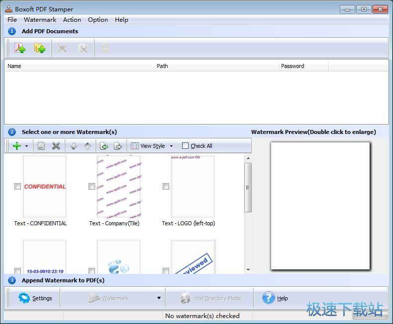 图:添加PDF文字水印教程