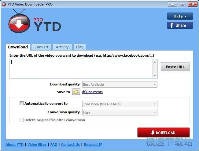 YTD Video Downloader下载在线视频转换格式教程 缩略图