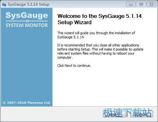 SysGauge安装教程