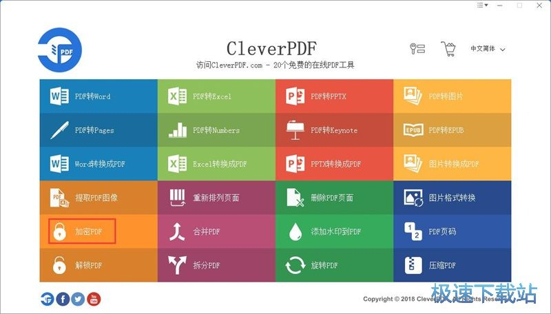 图:加密压缩PDF教程