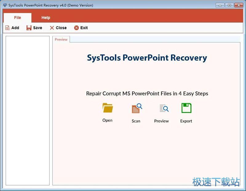 SysTools PowerPoint Recovery修复PPT幻灯片教程 缩略图