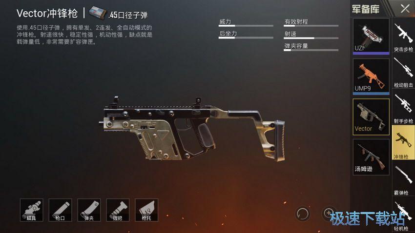 图:冲锋枪
