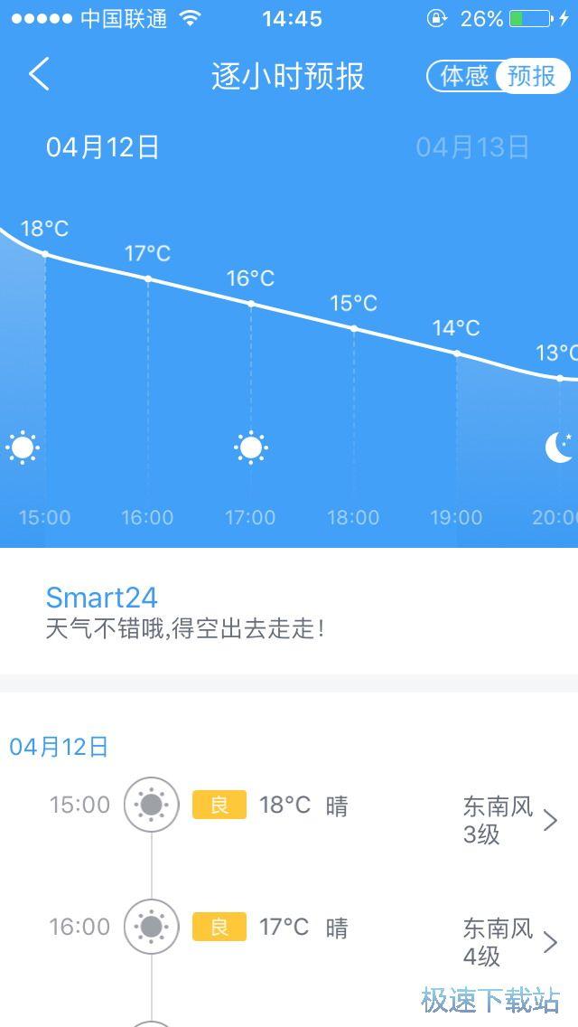 图:查看天气预报