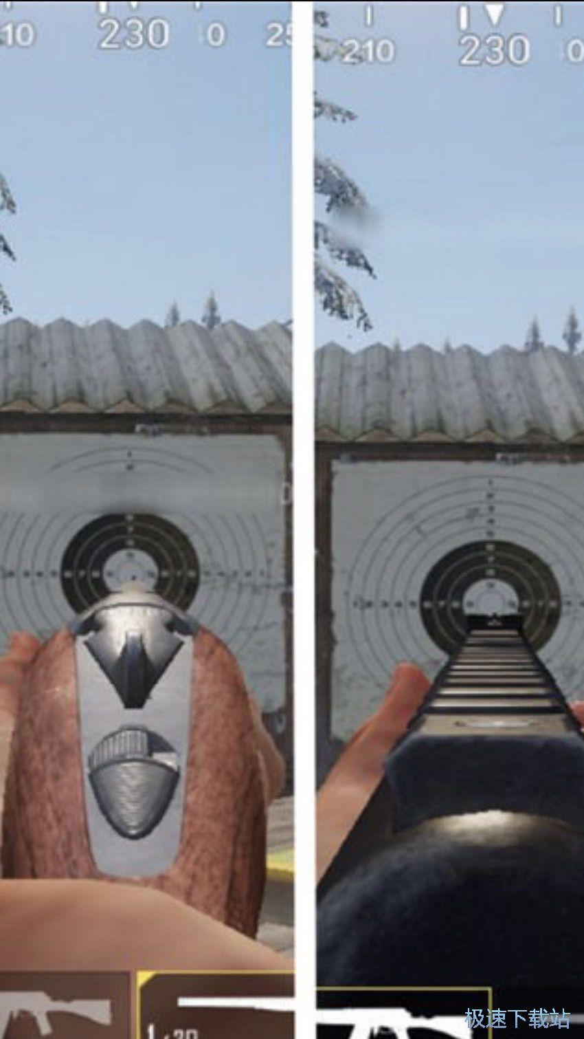 图:霰弹枪S12K与S686