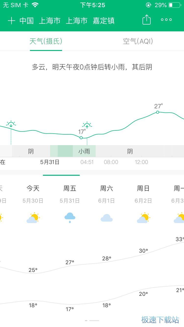 图:早晚天气提醒