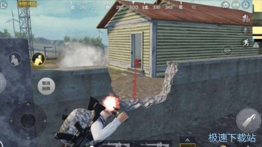 图:燃烧瓶投掷技巧