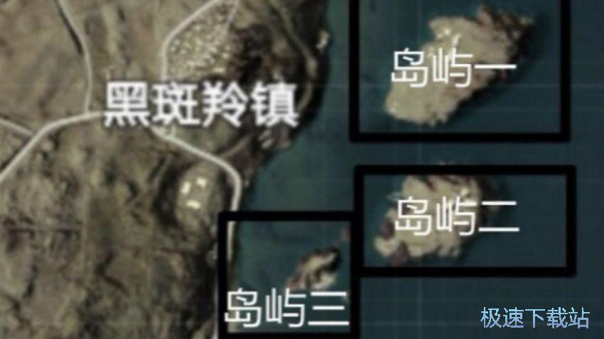 图:沙漠地图落地资源点