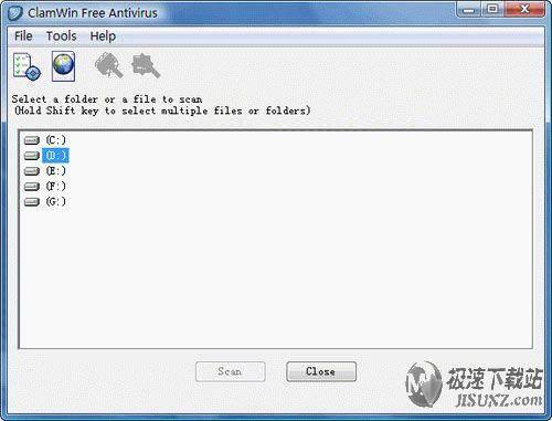 ClamWin Free Antivirus 图片 01