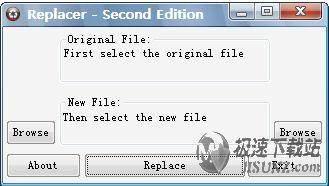 replacer 1.4.0.0 ��涡∏上到y文件替�Q工具┊英文�G色免�M版