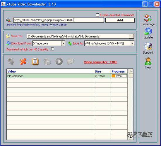 xTube Video Downloader 图片 01