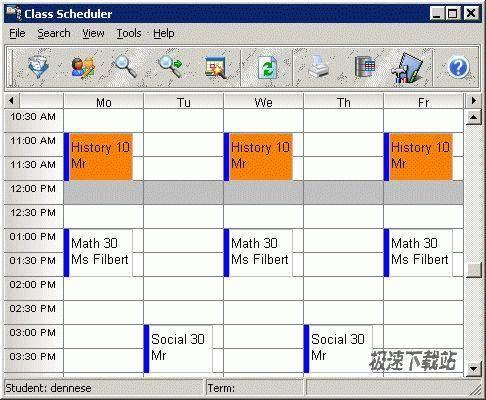 CyberMatrix Class Scheduler