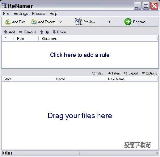 den4b renamer 5.60 文件重定名对象<p>ReNamer is a very powerful and flexible file renaming tool. ReNamer offers all the standard renaming procedures, including prefixes, suffixes, replacements, case changes, removing the content inside brackets, adding number sequences, changing file extensions, etc.</p>可以修改文件的扩大名