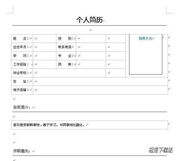 【设计师简历模板下载】设计师专业个人简历模定制家具设计有前途吗图片