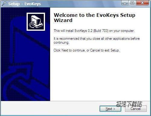 免费系统热键管理器(evokeys)