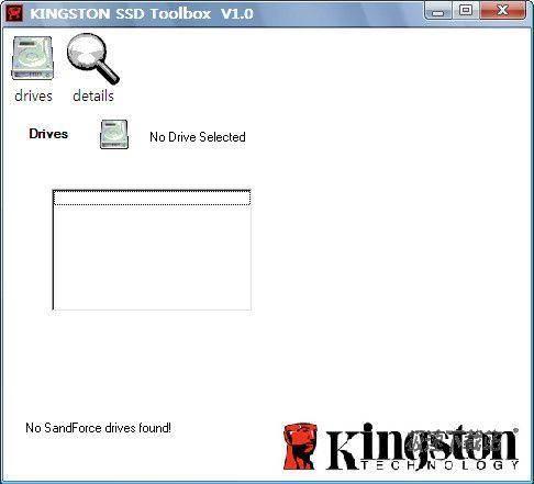 Kingston SSD Toolbox 图片 01