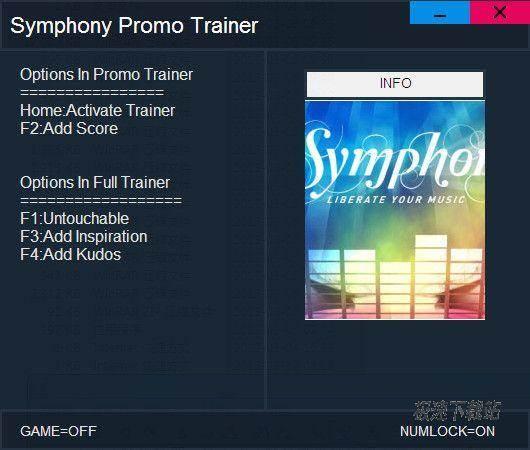 Symphony Promo Trainer 图片 01