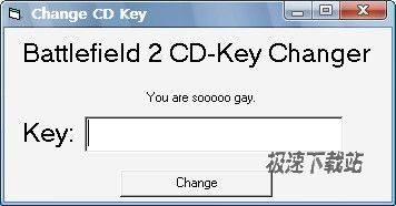 战地2cdkey输入器(战地2 cd-key changer)