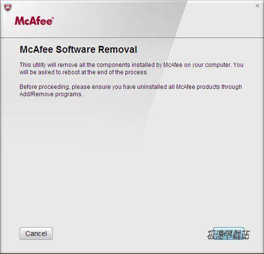 McAfee ReMoved 图片 01