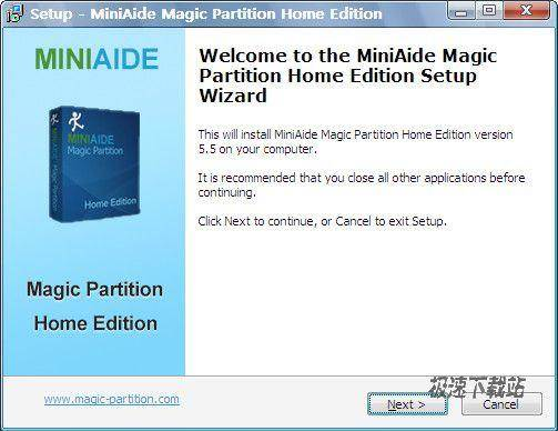 分区魔术师(miniaide magic partition home)