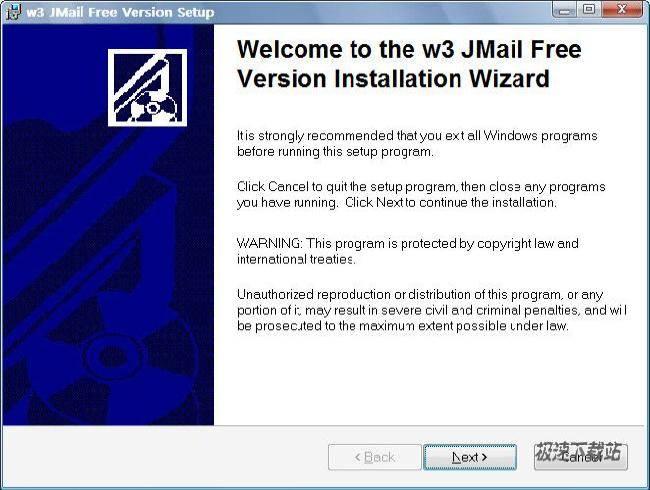 jmail免费邮件服务器组件(w3 jmail free)