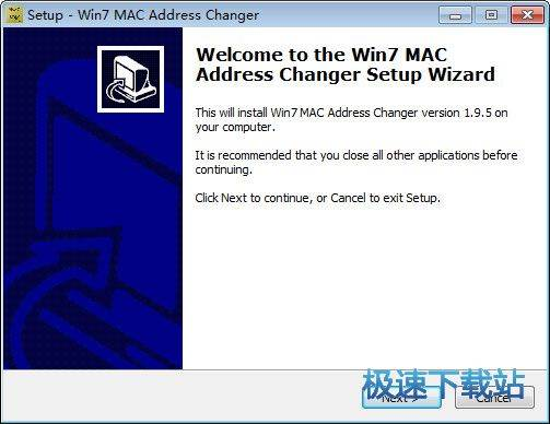 Win7 MAC address changer 图片 01