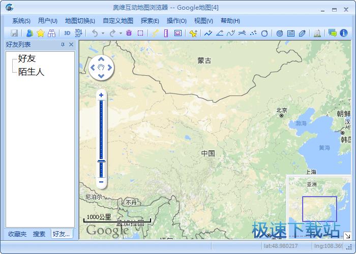 互动地图图片