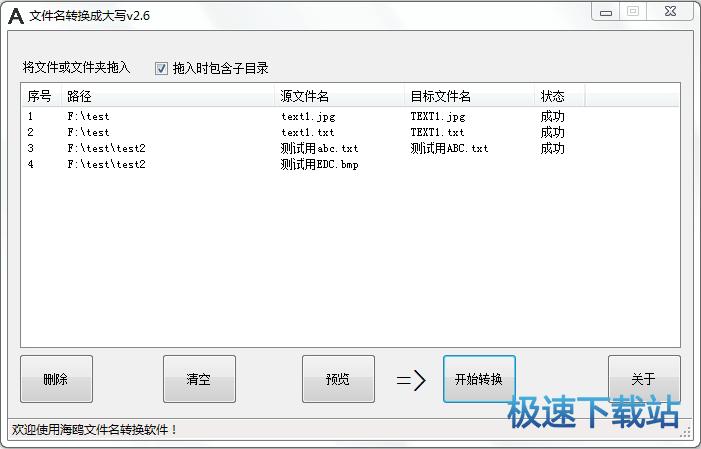 文件名大小写转换器