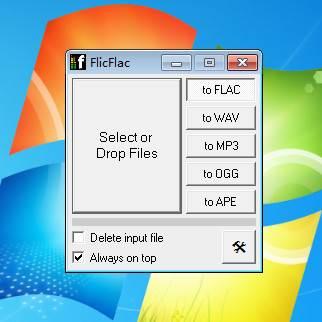 FlicFlac Audio Converter 图片 01