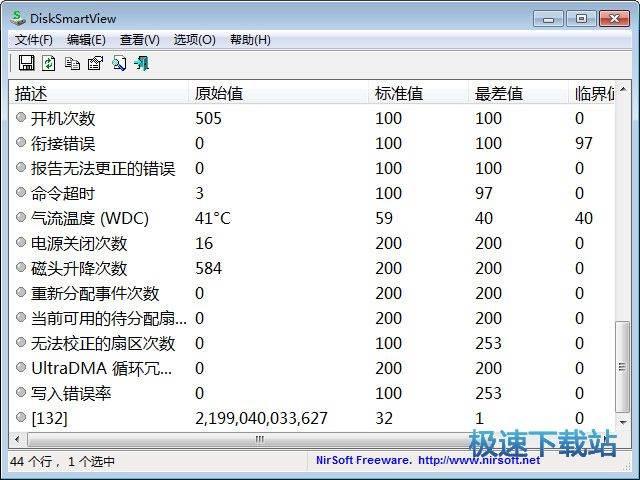 硬盘信息检测工具