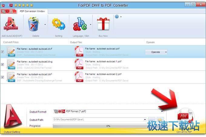 pdf to dwf converter free