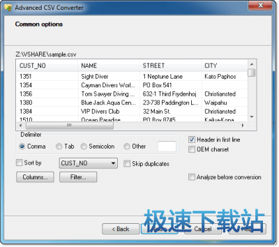 Advanced CSV Converter 图片 01s