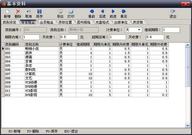 图书光盘出租系统图片