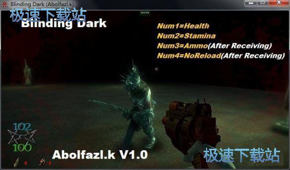 失明的黑暗4项修改器 图片