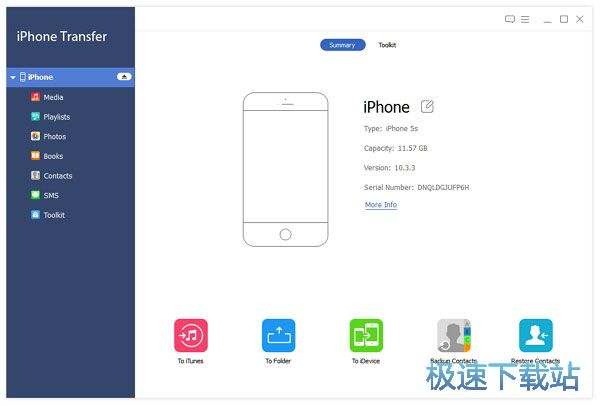 Apeaksoft iPhone Transfer图片
