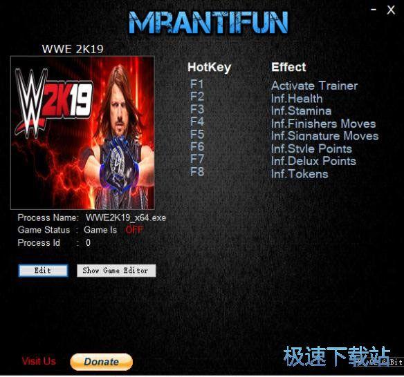 WWE 2K19修改器+7 图片